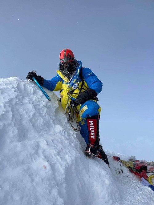 Валентин Сипавин на Эверест
